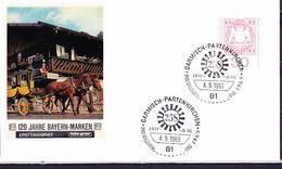 BRD FGR RFA - Philatelistentag (MiNr: 601) 1969 - FDC   (Ersttagsstempel:  Garmisch-Partenkirchen) - FDC: Buste
