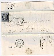TP N° 4 Sur Lettre De Pithiviers Pour La .... - 1849-1850 Ceres