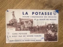 BUVARD LA POTASSE D ALSALCE - Agriculture