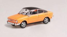 Škoda 110R Coupé - 1980 - 1980 - Orange & Black - Abrex - Cararama (Oliex)