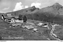 Photo Cpsm Suisse. KLEINE SCHELDEGG. Alpiglen Avec Funiculaire 1993 - GE Ginevra