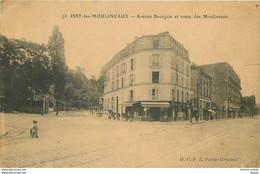 92 ISSY-LES-MOULINEAUX. Café Avenue Bourgain Et Route Des Moulineaux (pour Arnouville-les-Gonesse) - Issy Les Moulineaux