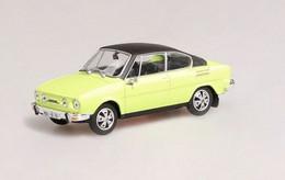 Škoda 110R Coupé - 1980 - 1980 - Light Green & Black - Abrex - Cararama (Oliex)