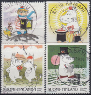 FINLANDIA 1998 YVERT Nº 1382/85 USADO - Gebraucht