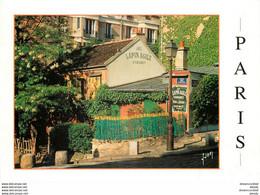 """Y. Photo Cpsm 75 PARIS 18. Cabaret """" Au Lapin Agile """" - Arrondissement: 18"""