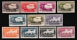 SENEGAL - POSTE AERIENNE - 1935 - YVERT N° 1/11 ** MNH - - Nuovi