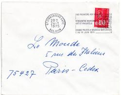 RHIN / Bas - Dépt N° 67 = STRASBOURG GARE 1975 = FLAMME SECAP' ARPHILA / RENCONTRE MONDIALE ART PHILATELIE ' - Mechanical Postmarks (Advertisement)