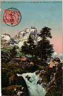 CPA AK Il Monte Cervino E La Cascata Del Marmore ITALY (531780) - Altre Città