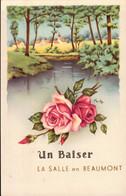 LA SALLE EN BEAUMONT   ( ISERE )   UN BAISER - Otros Municipios