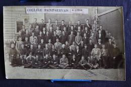 D-H-3 / Photo De Classe Du Collège Saint-Servais  A Liège  - 1894 ? - Chocolat