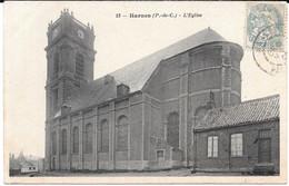 Cpa HARNES - L'Eglise Et Son Presbytère . - Harnes