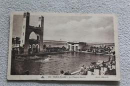 Cpa 1933, Le Touquet, Paris Plage, La Piscine Marine, Pas De Calais 62 - Le Touquet