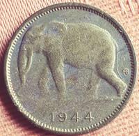 BELGISCH CONGO BELGE /  1 FRANC 1944 KM 26 MOOIE STAAT XF - 1934-1945: Leopold III
