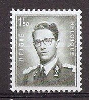 BELGIE Boudewijn Bril * Nr 924a * Postfris Xx * WIT PAPIER - 1953-1972 Occhiali