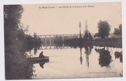 Le Blanc - Indre 36 - Les Bords De La Creuse Et Le Viaduc - Le Blanc
