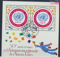UNO - Genf Block16 (kompl.Ausg.) Gestempelt 2001 50 Jahre Postverwaltung (9633934 - Gebraucht