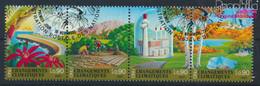 UNO - Genf 428-431 Viererstreifen (kompl.Ausg.) Gestempelt 2001 Klimaänderung (9633933 - Gebraucht