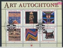 UNO - Genf Block18 (kompl.Ausg.) Gestempelt 2003 Eingeborenenkunst (9633921 - Gebraucht