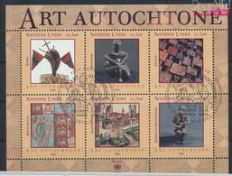 UNO - Genf Block19 (kompl.Ausg.) Gestempelt 2004 Eingeborenenkunst (9633912 - Gebraucht