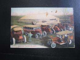 E- Carte Postale Automobile Cirque Zoocircus - Altri