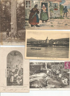 Joli Lot De 10 CPA Animées - 5 - 99 Postcards
