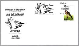 JILGUERO - GOLDFINCH -  CHARDONNERET ELEGANT. FDC Madrid 2006 - Sperlingsvögel & Singvögel