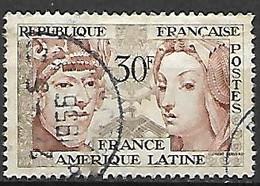 FRANCE    -   1956 .  Y&T N° 1060 Oblitéré. - Usati