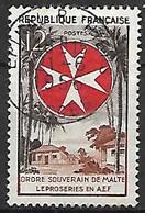 FRANCE    -   1956 .  Y&T N° 1062 Oblitéré.  Ordre De Malte - Usati