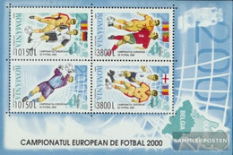 Romania Block313 (complete Issue) Unmounted Mint / Never Hinged 2000 Football European Championship 2000 - Ungebraucht