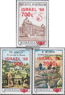 Romania 5306-5308 (complete Issue) Unmounted Mint / Never Hinged 1998 Stamp Exhibition - Nuovi