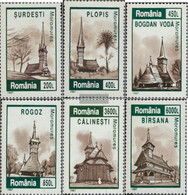 Romania 5243-5248 (complete Issue) Unmounted Mint / Never Hinged 1997 Village Churches - Nuovi