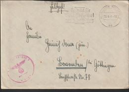 German Feldpost WW2: Luftnachrichten Regiment 2 Posted Münster (Westf) 23.6.1941 - Letter (G132-3) - Militares