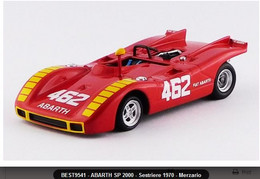 Abarth SP 2000 - Arturo Merzario - Sestriere 1970 #462 - Best Model - Best Model