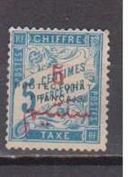 MAROC          N°  YVERT  TAXE 18     NEUF AVEC CHARNIERES       ( CH 4 / 21 ) - Postage Due
