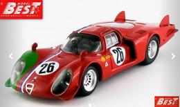Alfa Romeo 33.2 LM - Trosch/Gosselin - 1000 Kms Monza 1968 #26 - Best Model - Best Model