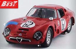 Alfa Roméo TZ2 - Lucien Bianchi/Consten - Sebring 1966 #62 - Best Model - Best Model