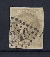 Frankreich Mi.38a Gestempelt Kat.250,-€ - 1870 Bordeaux Printing