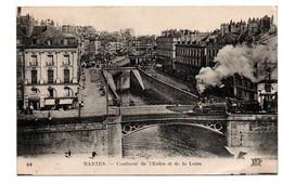NANTES PONT SUR L ERDRE TRAIN ANIMEE - Nantes