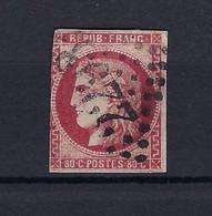Frankreich Mi.44b Gestempelt Kat.350,-€ - 1870 Emissione Di Bordeaux