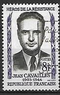 FRANCE    -   1958 .  Y&T N° 1157 Oblitéré.  Jean Cavaillès - Usati