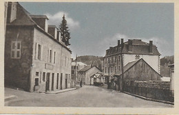 19 - CORREZE - MEYMAC - Route De Limoges Et Avenue De La Gare - Carte Inédite ! Plan Jamais Vu Edit . Barrucand - Autres Communes