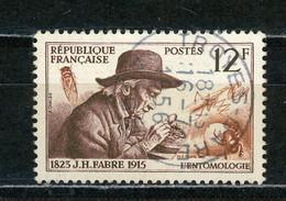 FRANCE - FABRE - N° Yvert 1055 Obli Ronde De TROYES De 1956 - Oblitérés