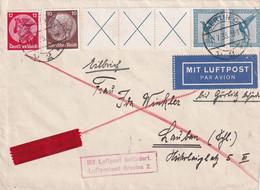 ALLEMAGNE 1933 PLI AERIEN EXPRES DE BERLIN - Cartas