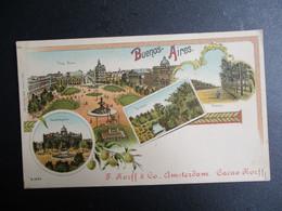 OUDE  Postkaart  F .  KORFF &  Co  AMSTERDAM - Amsterdam