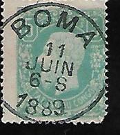 Congo Belge - Etat Indépendant Le Roi Léopold II Y&T N°1 Obl BOMA LOT N° C101 - Otros