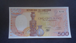 CAMEROON  ,  P 24a  , 500 Francs  1988 ,  UNC Neuf - Cameroon