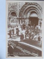 Cognac - Le Général De Gaulle à L'église Saint Léger Le 22 Avril 1945 - Cognac