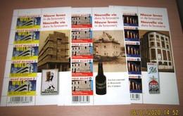 4061/62/63** Nieuw Leven In De Brouwerij** BF Nouvelle Vie Dans La Brasserie MNH Pl 1 Pils Mena / Wiels Etc..PL 1-1-1 - Foglietti