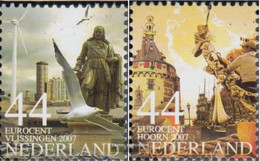 Netherlands 2489A-2490A (complete Issue) Unmounted Mint / Never Hinged 2007 Beautiful Netherlands - Nuovi