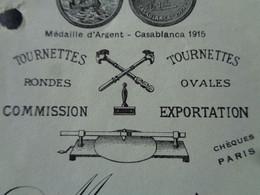 FACTURETTE - Dpt DE SEINE - PARIS 3ème - 1934 - FABRIQUE DE DIAMANTS / COUPER LE VERRE : F. SOLIGNAC, 165 RUE DU TEMPLE - Non Classificati